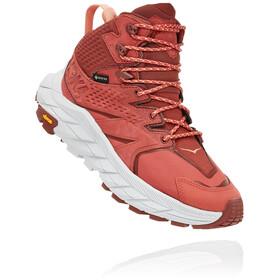 Hoka One One Anacapa GTX Mid Shoes Women, rojo